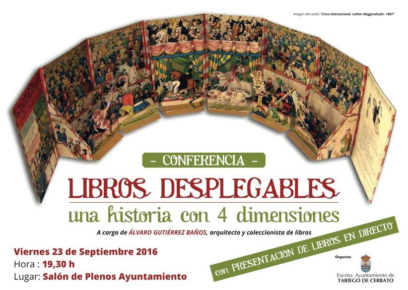 Conferencia Libros Desplegables «Una historia con 4 dimensiones»
